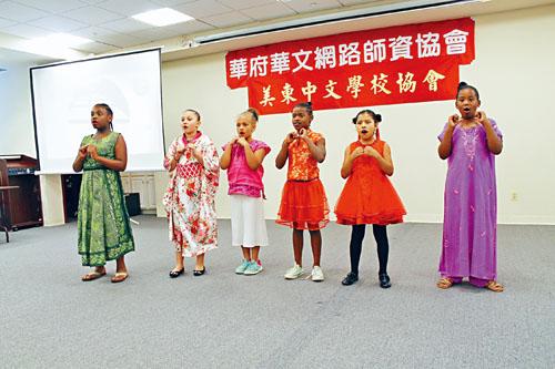 幼兒組參賽小朋友唱作俱佳。