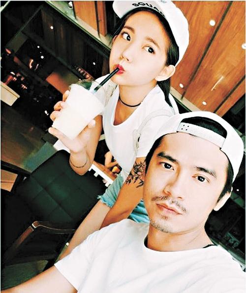 阿翔(右)和陳艾琳(左)