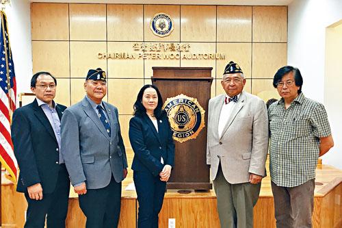 紐約同源會與紐約華裔退伍軍人會共同呼籲民眾支持法案。
