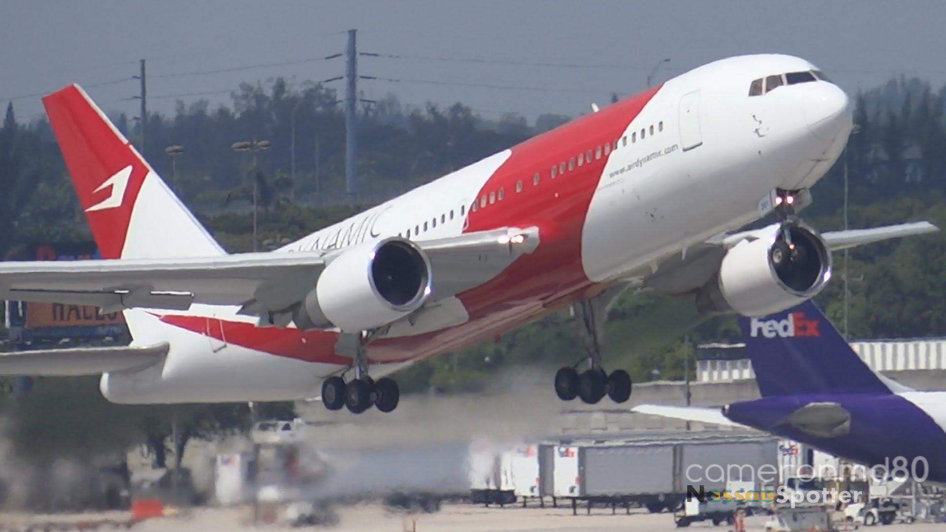 動力國際航空公司班機。網絡圖