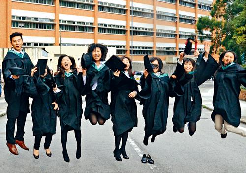 政府計畫資助自資院校學生。