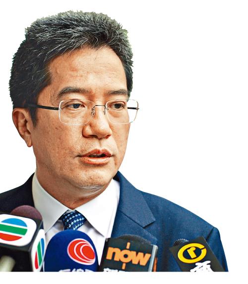 黃偉綸相信未來兩三年,可以完成處理有關非法霸佔官地的個案。