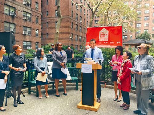 紐約市房屋保護及發展局宣布將向尼克村撥款3350萬元,用於支持其災後恢復及維修工作。