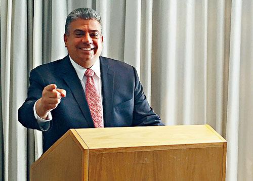紐約亞裔民主黨俱樂部3日宣布背書支持代理布碌崙地區檢察官甘莎樂競選布碌崙地區檢察官一職。資料圖片