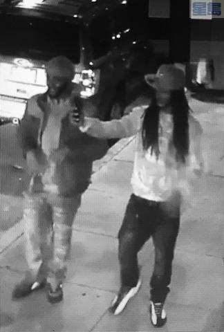 警方發布視頻顯示其中兩嫌犯。記者徐明月翻攝