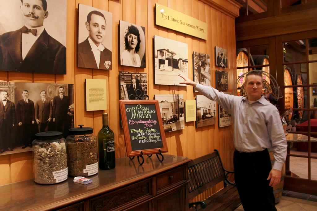 San Antonio Winery是洛杉磯市區碩果僅存的酒莊,擁有百年歷史,目前建築物列為洛杉磯文化遺產(Los Angeles Historic-Cultural Monument)之一。記者陳光立攝