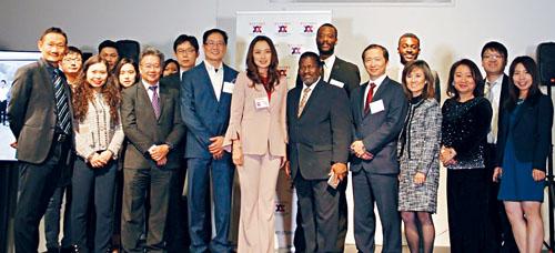 美中企業家商會大華府分會成立。