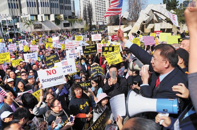 一項最新民調指出,61%亞裔受訪者認為亞裔在美國受到歧視。資料圖片