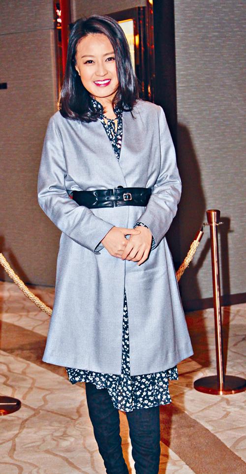 陳倩揚剛從日本旅行返港。