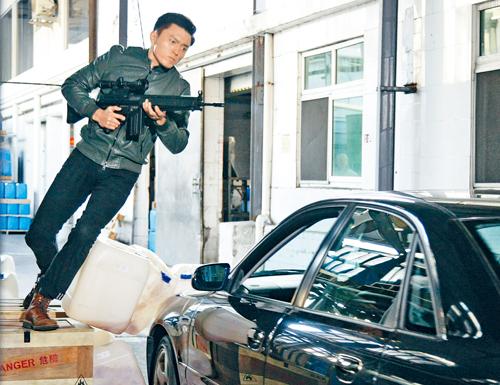劇情講述楊明被王浩信駕車猛撞。