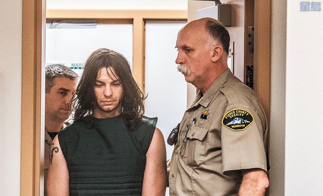 l 柏烏被控一級謀殺、一級綁架及二級藏械。美聯社