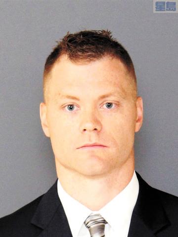殉職警員麥卡特尼。美聯社