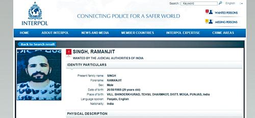 國際刑警向Romi發出紅色通緝令。