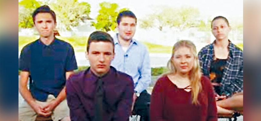 道格拉斯高中的學生表示,計劃於3月24日在華盛頓及多個大城市舉行大遊行,要求當局採取行動控槍。The Washington Post圖片