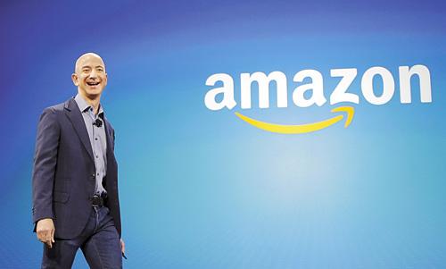 網上零售商亞馬遜創辦人貝佐斯。