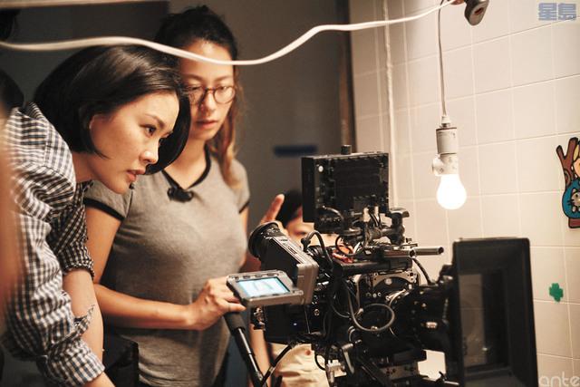 年輕華裔女導演阮鳳儀。阮鳳儀提供