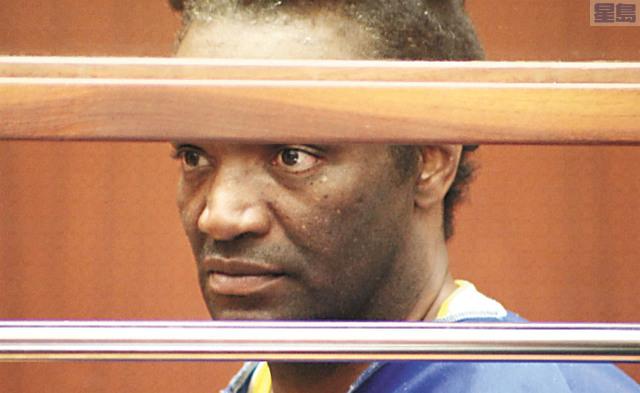 被告偷竊奧斯卡女主角獲獎小金人的Terry Bryant7日在洛杉磯刑事法庭出庭。記者羅大衛攝