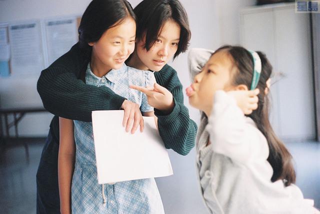 阮鳳儀執導《姐姐》時的情景。阮鳳儀提供