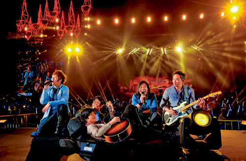 ■五月天將來港舉行5場演唱會。