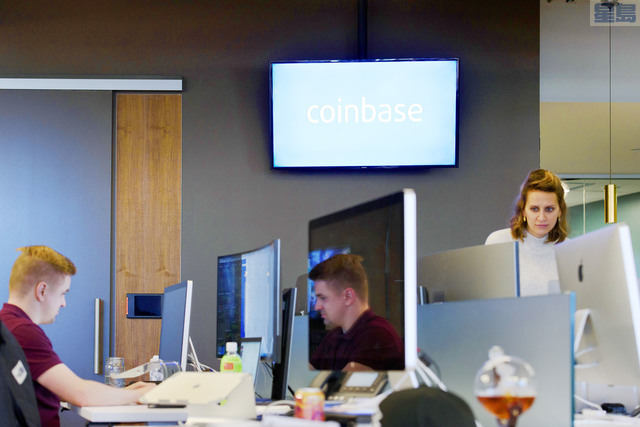 Coinbase宣布將推出一檔加密貨幣加權指數基金。資料圖片