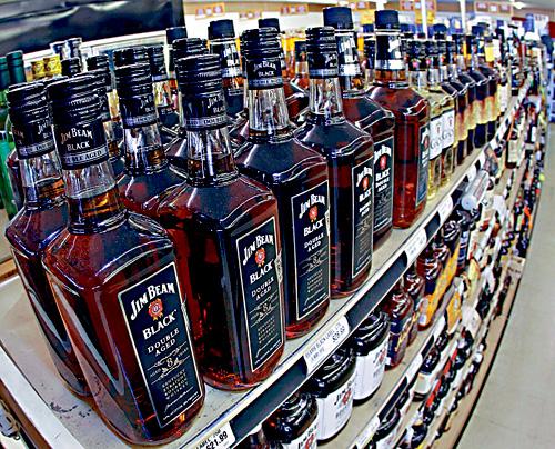 ■肯塔基州出產的波本威士忌。資料圖片