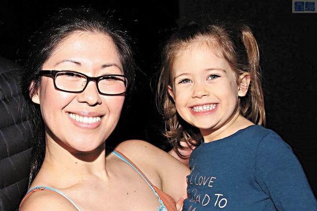 布魯曼斯坦在車禍中痛失四歲女兒。取自GoFundMe