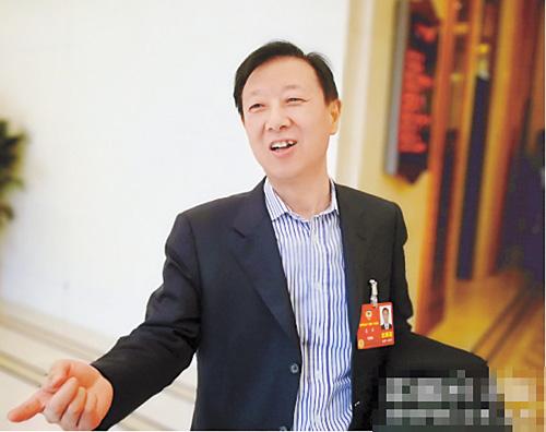 證監會副主席姜洋。網上圖片
