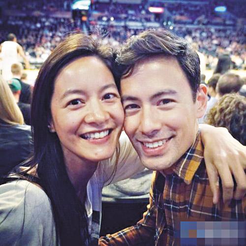 Janet(左)和老公(右)在短片中飾演一對姊弟,竟在美國獲得最佳雙人演員獎。網上圖片