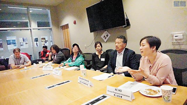 在分享會上,呼籲職場遭遇性騷擾,勇敢站出來!記者黃偉江攝
