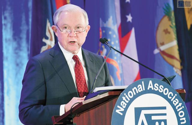 司法部長賽辛斯周三將到加州沙加緬度,就庇護政策發表重要講話。美聯社