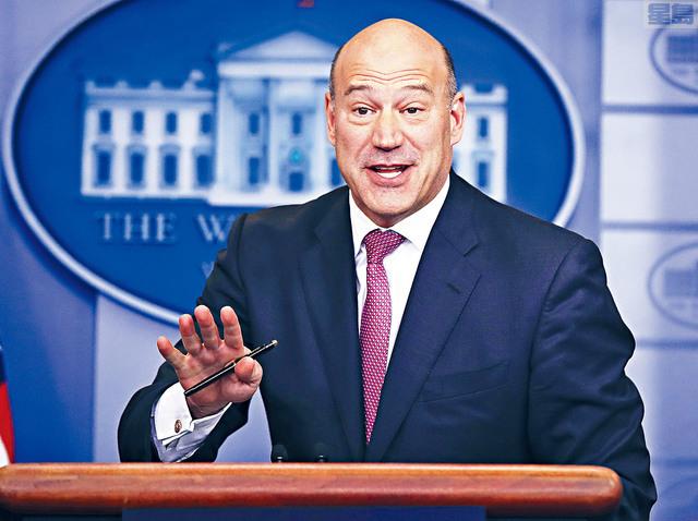 據悉,首席經濟顧問科恩是因不滿特朗普決定推行對進口鋼材和鋁材的關稅措施,決定離開白宮。    美聯社