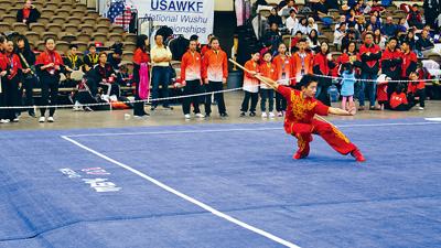 紐約州唯一選入國家隊也是紐約去年太極比賽全場冠軍黃啟扉Alan Huang。