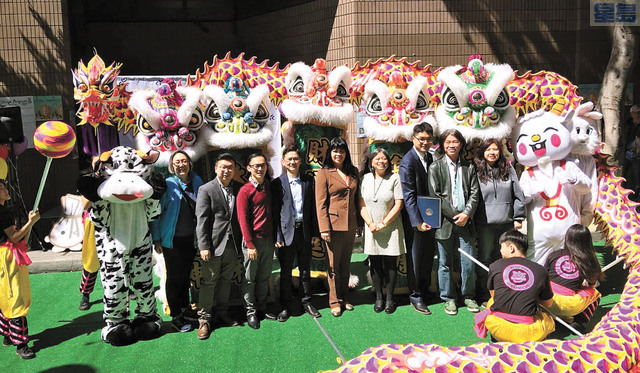 首屆「春滿華埠,繽FUN天后」嘉年華開幕儀式。記者黃偉江攝