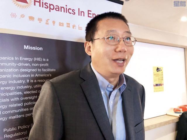 加州大學戴維斯分校交通研究所中國能源和交通中心主任王雲石。記者梁穎欣攝