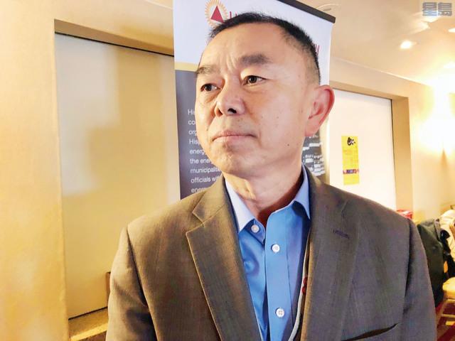加州獨立系統機構市場發展主任Shu Cheng Liu。記者梁穎欣攝