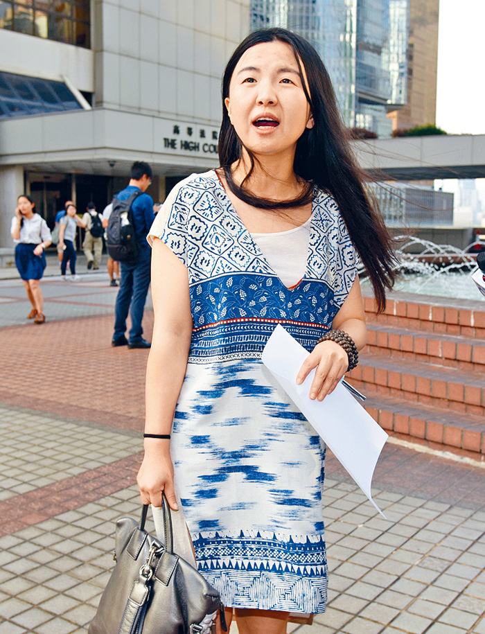 唐琳玲涉庭內偷拍後,一度傳出她是國企中鐵建的投資部副總經理。 資料圖片