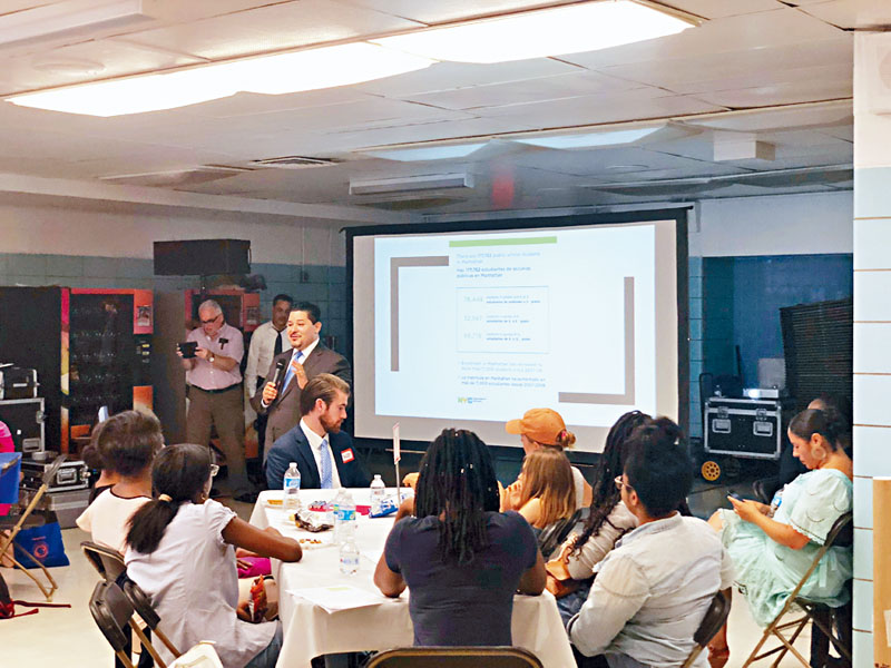 討論學校多元性,紐約市校監將學校改革與全國性政治議題「掛鉤」。
