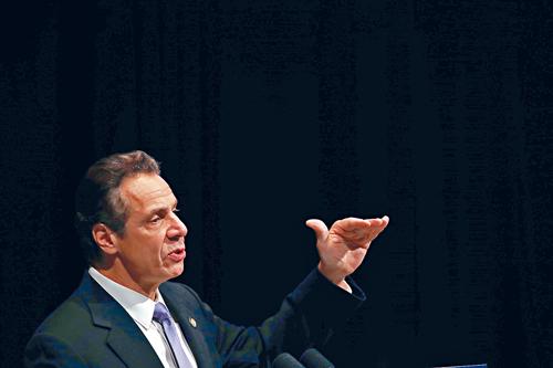 柯謨在州民主黨大會後,再次擴大領先優勢。Nathaniel Brooks/紐約時報