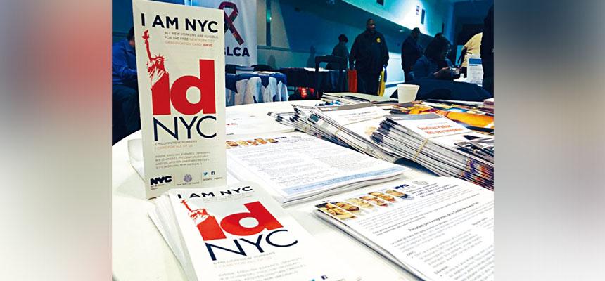 紐約市府於2015年推出市民卡計劃。網上圖片
