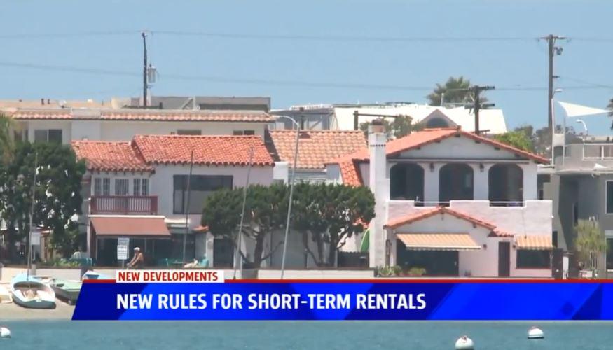 經過多年的激烈辯論,聖地牙哥市議會通過制定有關短期渡假租賃的新法規則,最快明年7月正式生效。FOX 5