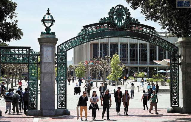 加州大學系統表示今年錄取的州內轉校生破紀錄。美聯社