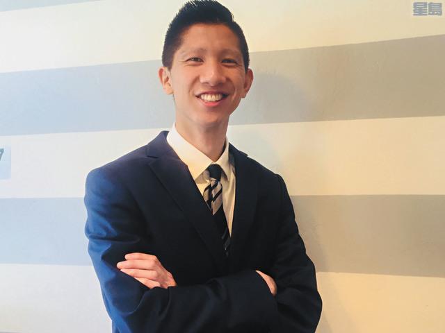 l 方友明將於11月競選辛尼維爾第三區市議員。記者李娜攝