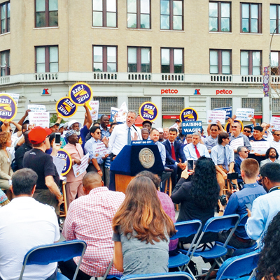 市長宣布將於周二簽署法案。