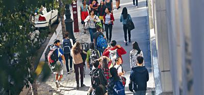 今年在史蒂文生高中的900名新生中,只有10人是非裔。Michael Appleton/紐約時報