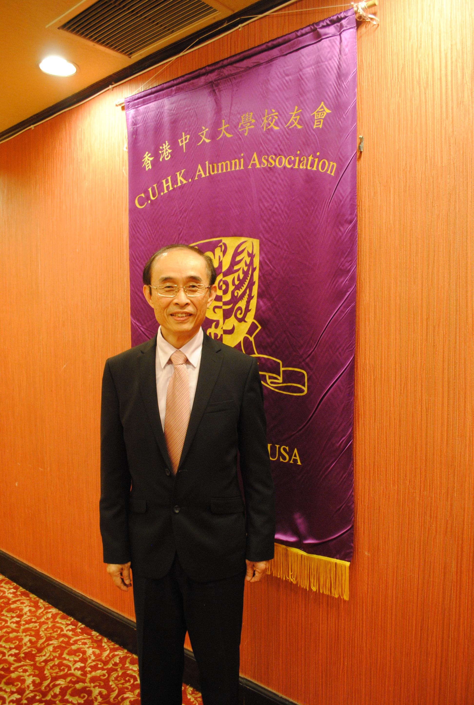 香港中文大學聯合書院院長兼化學系教授余濟美。記者李青蔚攝
