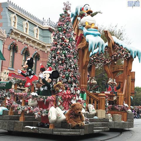 世界造訪人數最多的樂園排行榜出爐,加州迪士尼主題樂園高居第二,保持地位穩定。資料照片