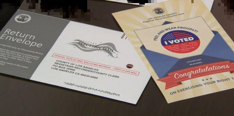 洛杉磯縣通訊投票選民近期將會收到全新設計選票,內容簡便易懂,且不需要支付郵資。KABC/abc7