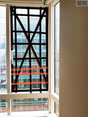 千禧大廈36樓窗戶爆裂,樓檢局下令盡快檢查大廈所有窗戶,提交詳盡調查報告。三藩市樓檢局/美聯社