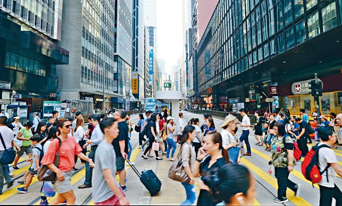 美國國會報告形容,香港高度自治持續受損。資料圖片