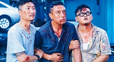 鄭中基(左)演小混混角色,演繹出他獨特的風格,尤其片中的主題曲《沒聽過的歌》,更獲得最佳2017年香港金像獎最佳原創電影歌曲。網絡相片